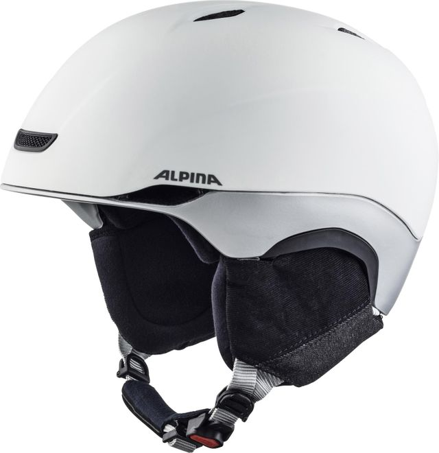 Alpina Skihelm Parsena - white grey matt – Bild 1