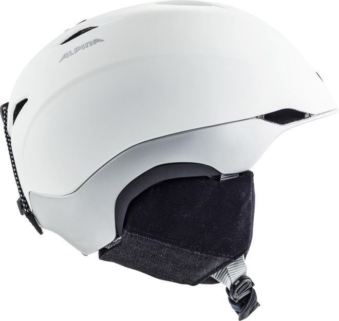 Alpina Skihelm Parsena - white grey matt – Bild 4