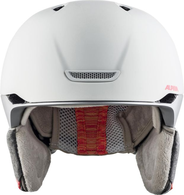 Alpina Skihelm Parsena - white-flamingo matt – Bild 2