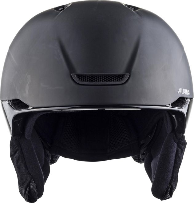 Alpina Skihelm Parsena - dark-black matt – Bild 2