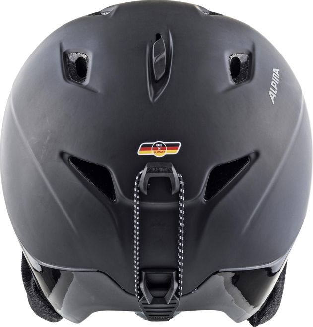 Alpina Skihelm Parsena - dark-black matt – Bild 3