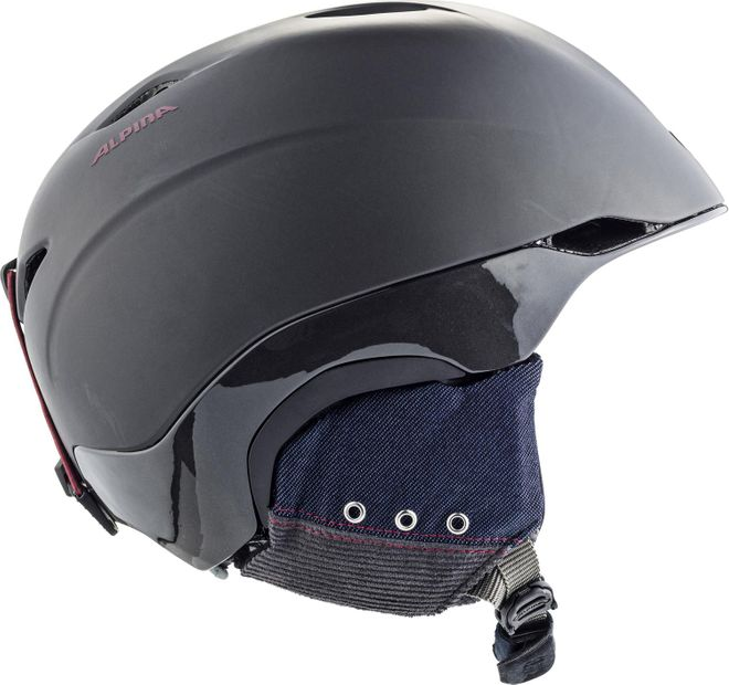 Alpina Skihelm Parsena - denim-grey matt – Bild 4