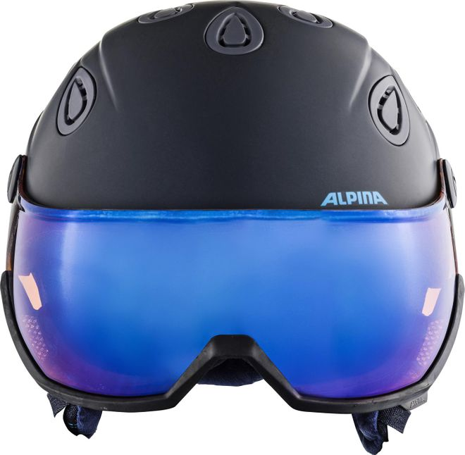 Alpina Skihelm Grap Visor 2.0 HM - nightblue-denim matt – Bild 3