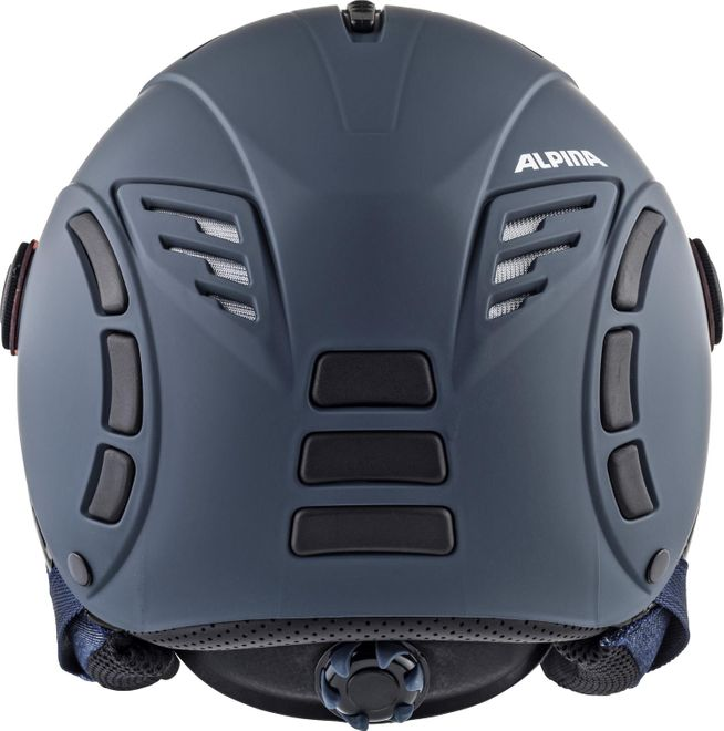 Alpina Skihelm JUMP 2.0 QVMM - nightblue-denim matt – Bild 3