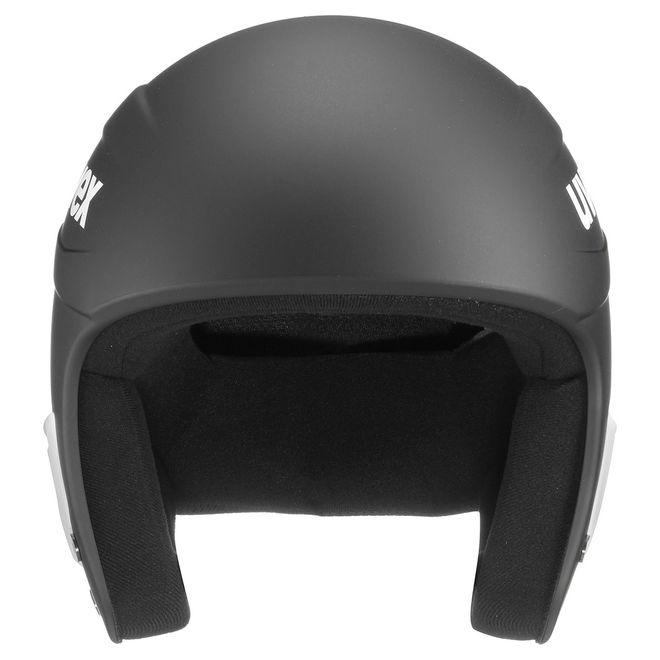Uvex Race+ Skihelm - black-white mat – Bild 3