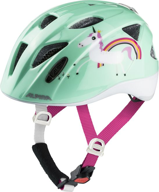 Alpina Ximo Flash Kinder Fahrradhelm - mint unicorn – Bild 4