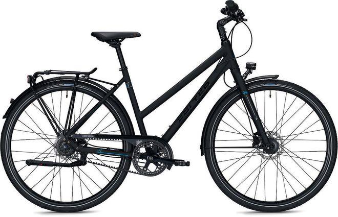 Falter U 7.0 City/Urbanbike Trapez mit Riemenantrieb - schwarz matt