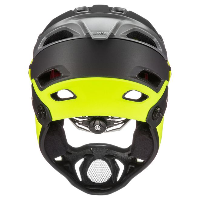 Uvex jakkyl hde Downhill Helm - grey neon mat – Bild 4