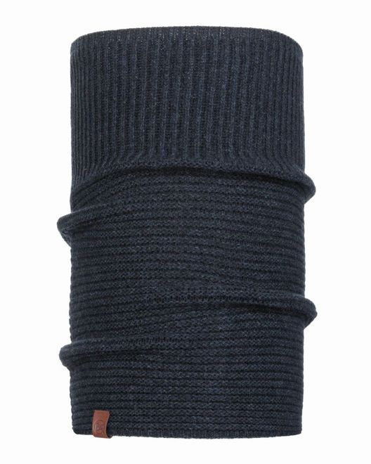 Buff Knitted Comfort Neckwarmer Biorn - dark denim