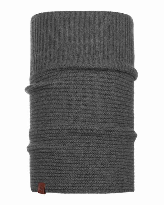 Buff Knitted Comfort Neckwarmer Biorn - grey