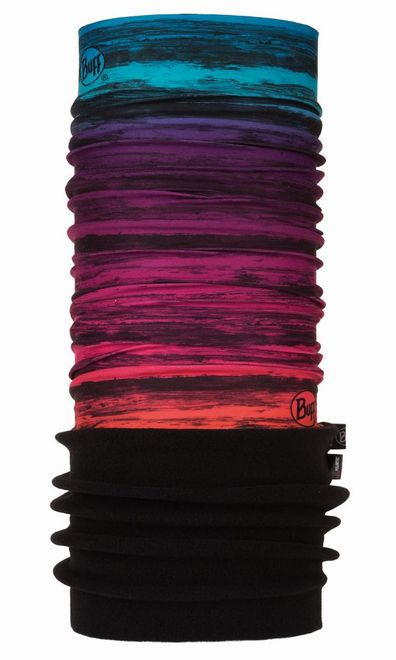 Buff Polar Multifunktionstuch - karlin mardi grape - black