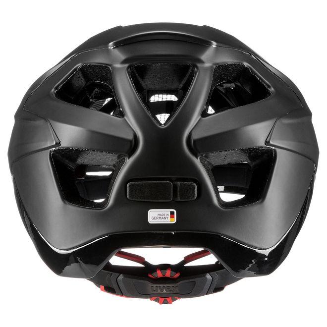 Uvex quatro integrale Fahrrad MTB Helm - black mat – Bild 4
