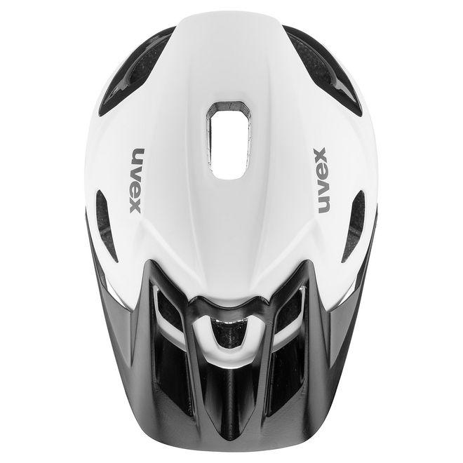 Uvex quatro integrale Fahrrad MTB Helm - white-black – Bild 4