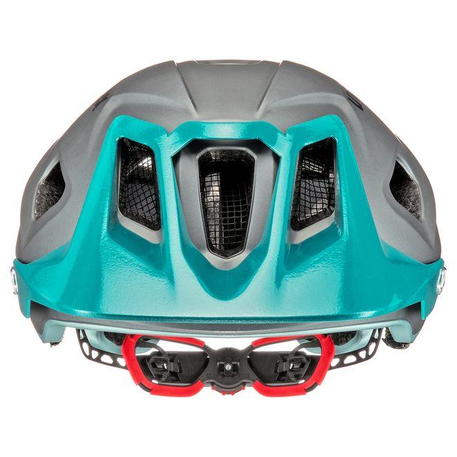 Uvex quatro integrale Fahrrad MTB Helm - lightblue-grey mat – Bild 5