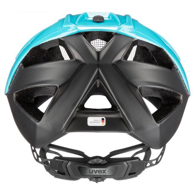 Uvex quatro xc Fahrrad MTB Race Cross Helm - blue black – Bild 4