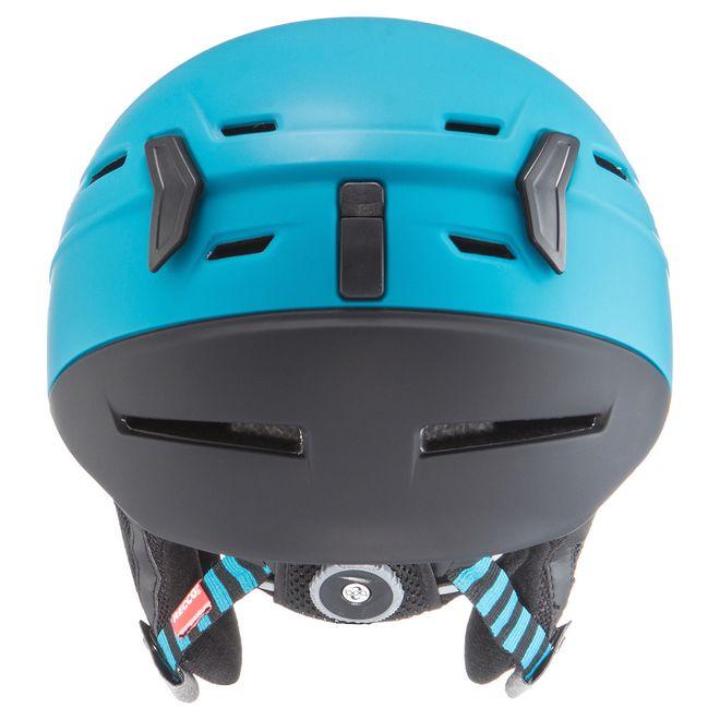 Uvex p.8000 Tour Bike- Kletter- und Skihelm - petrol-black mat – Bild 2