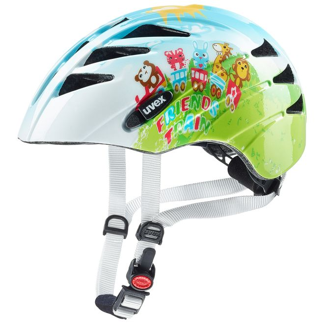 Uvex Kid 1 Kinder Fahrradhelm - friends train – Bild 1