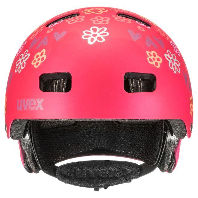 Uvex kid 3 cc Kinder Fahrradhelm - dark red – Bild 5