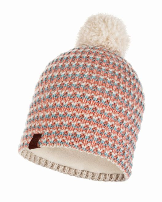 Buff Knitted & Polar Fleece Hat Dana - multi