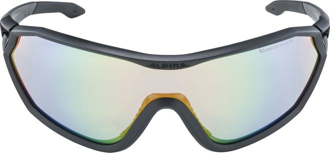 Alpina S-WAY L VLM+ Sportbrille - coal matt black – Bild 2