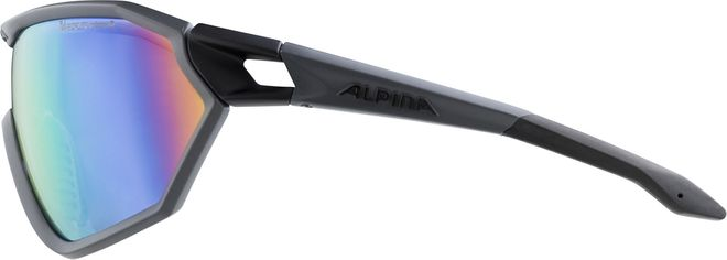Alpina S-WAY L VLM+ Sportbrille - coal matt black – Bild 3