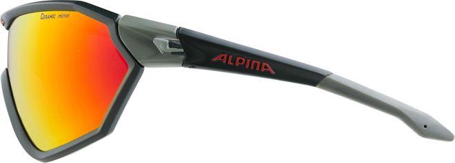 Alpina S-WAY L CM+ Sportbrille - seamoss green – Bild 3