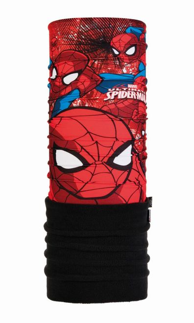 Buff Junior Polar Schlauchtuch Spiderman - approach - black