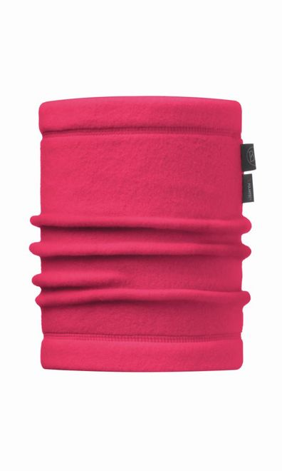 Buff Junior & Child Polar Neckwarmer - solid bright pink
