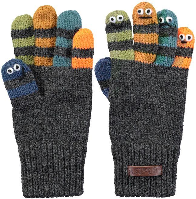 Barts Handschuhe Almanzo Gloves - dark heather