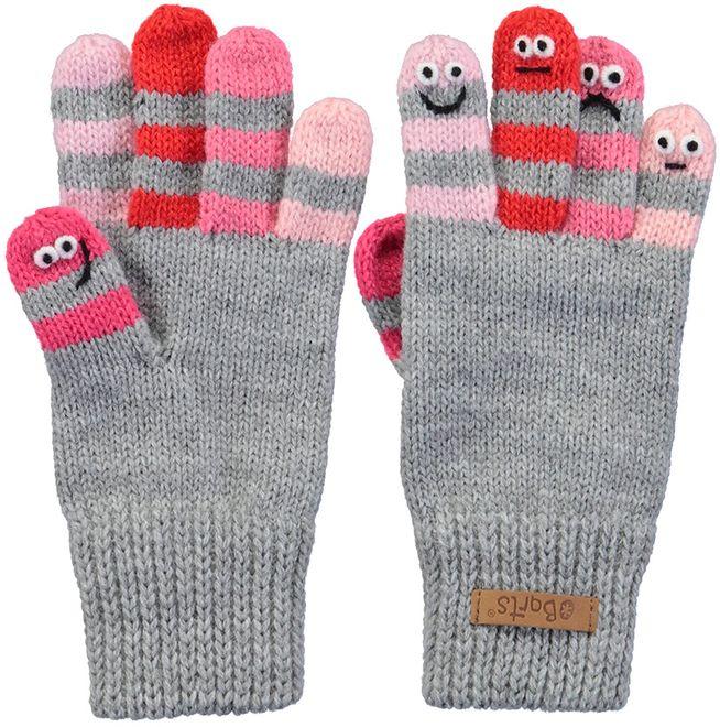 Barts Handschuhe Almanzo Gloves - heather grey
