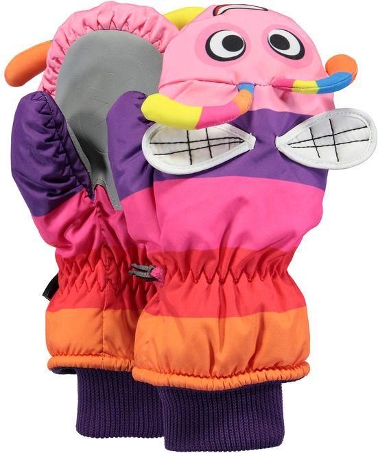 Barts Nylon Mitts 3D Handschuhe Kinder - purple