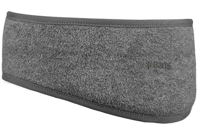 Barts Fleece Headband - hellgrau