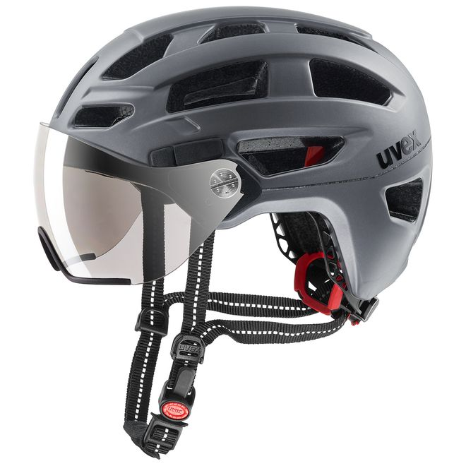 Uvex finale visor Fahrrad Helm - strato steel – Bild 1