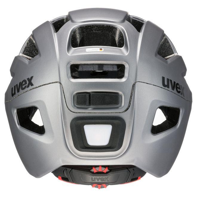 Uvex finale visor Fahrrad Helm - strato steel – Bild 5