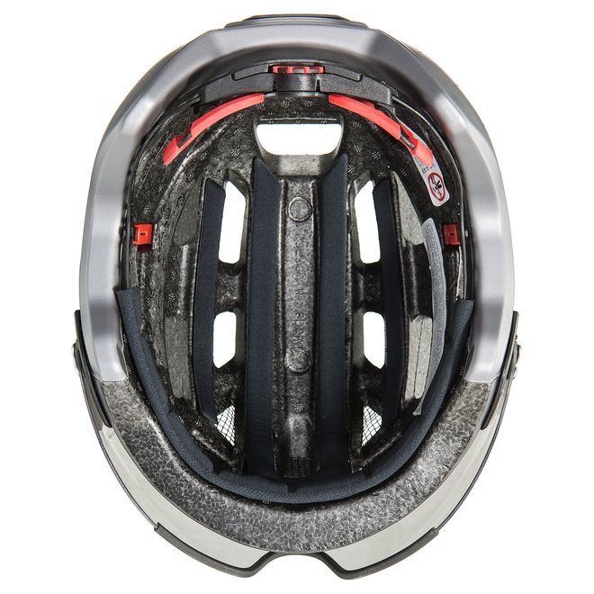 Uvex finale visor Fahrrad Helm - strato steel – Bild 7