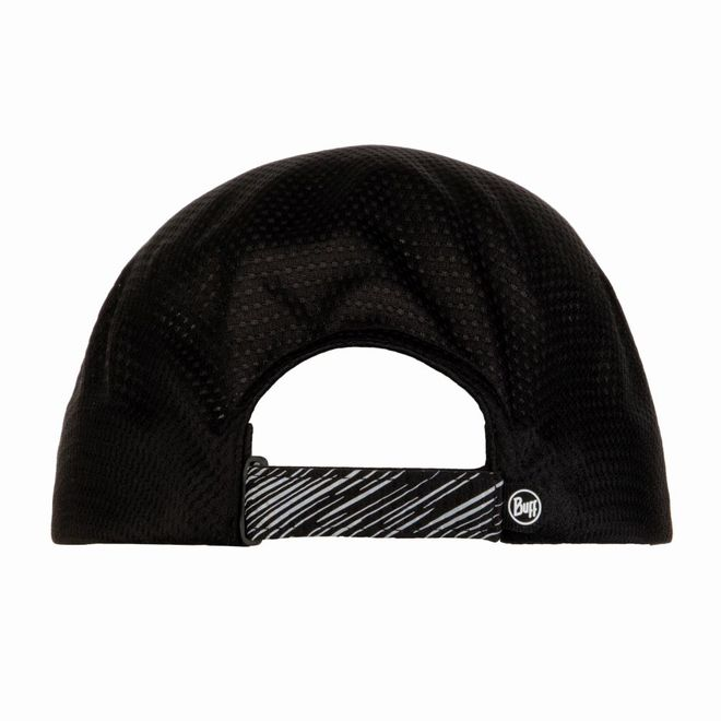 Buff One Touch Cap Reflective - solid black – Bild 2
