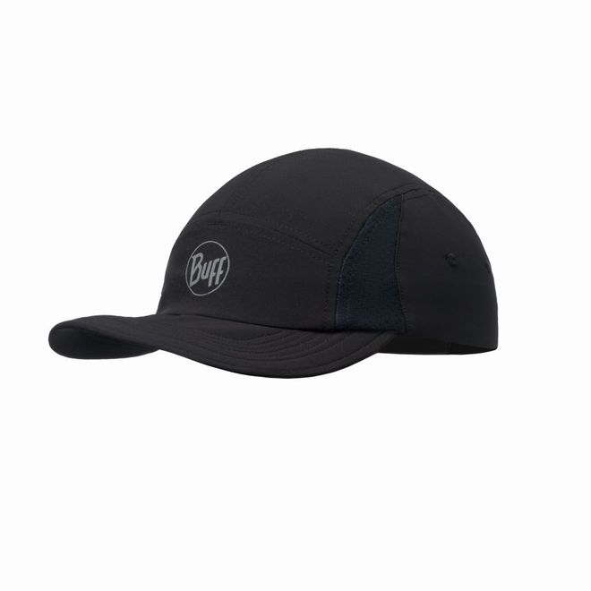 Buff Run Cap Reflective - solid black