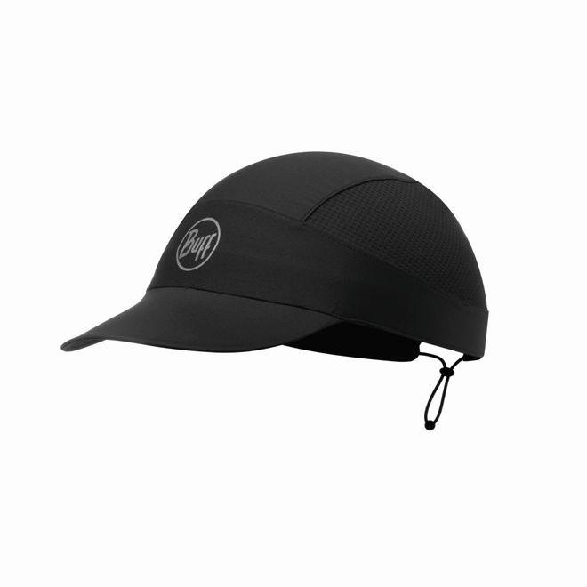 Buff XL Pack Run Cap Reflective - solid black