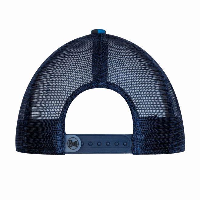 Buff Trucker Cap Bug Slinger - mosaic camo marine blue – Bild 2