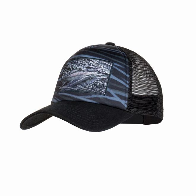 Buff Trucker Cap A.D. Maddox - chrome graphite – Bild 1