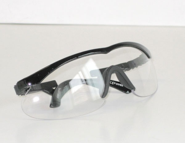 Uvex catwalk - black/ clear