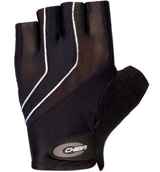 Chiba C9 Rad-Handschuh - schwarz