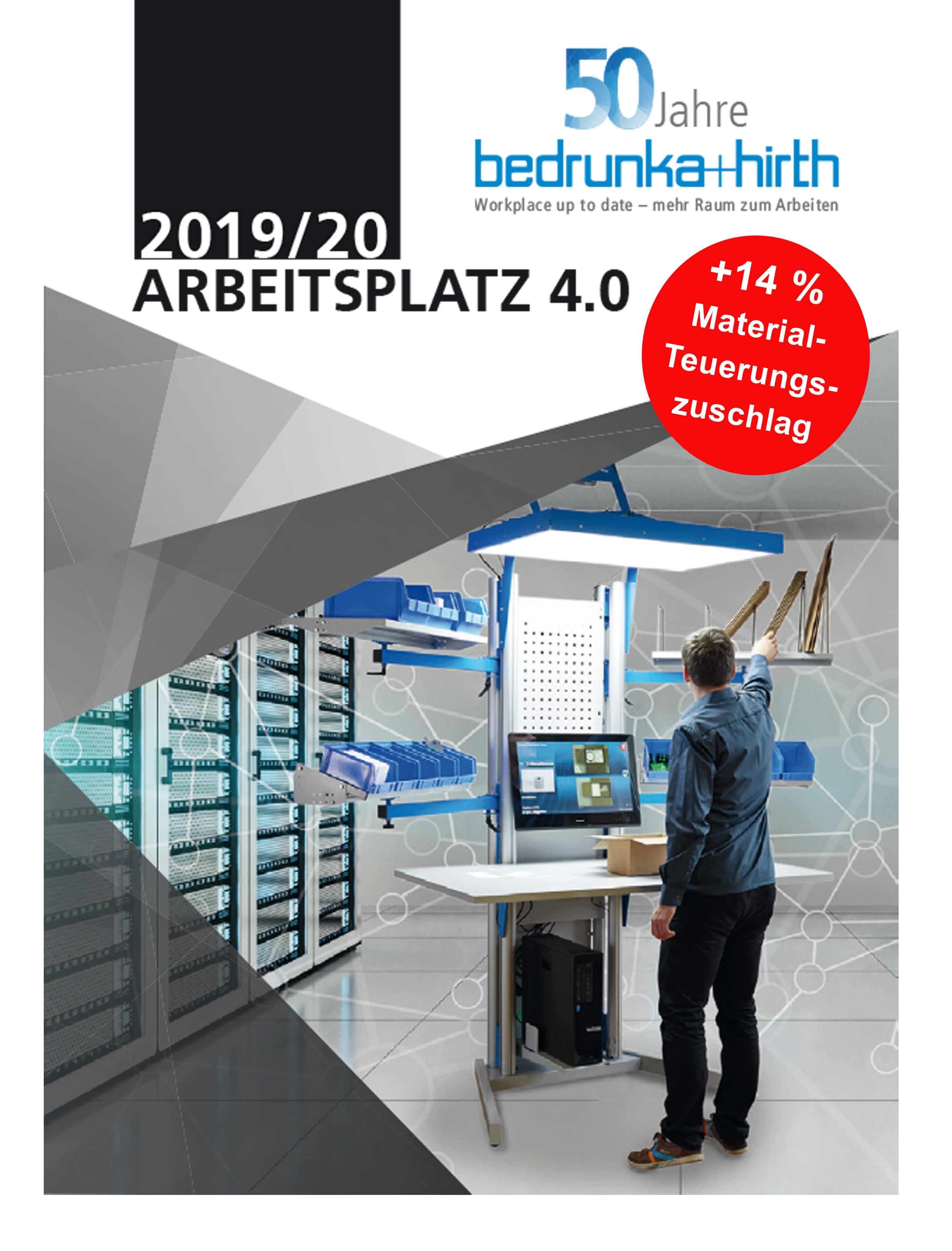 Bedrunka & Hirth Arbeitsplatzsystem 4.0