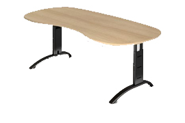 C-Fußtisch