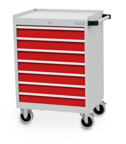 Mobiler Schubladenschrank mit einer Breite von 680 mm