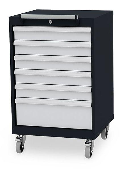 Mobiler Schubladenschrank von Simplaflex mit einer Breite von 600 mm