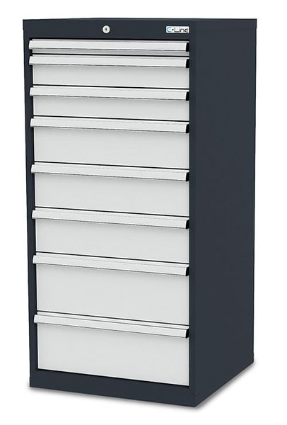 Schubladenschrank von Simplaflex mit einer Breite von 600 mm