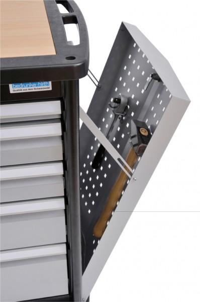 Maxmobile 2 Werkzeugwagen Seitenklappe für langes Werkzeug – Bild 1