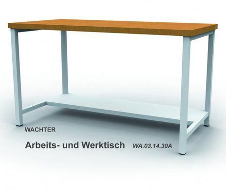 Arbeits- und Werktisch mit Kofferschrank, B/T: 1500 x 750 mm – Bild 4