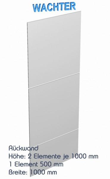 3 Vollblech Rückwände für Regale, 2500 mm x 1000 mm – Bild 1